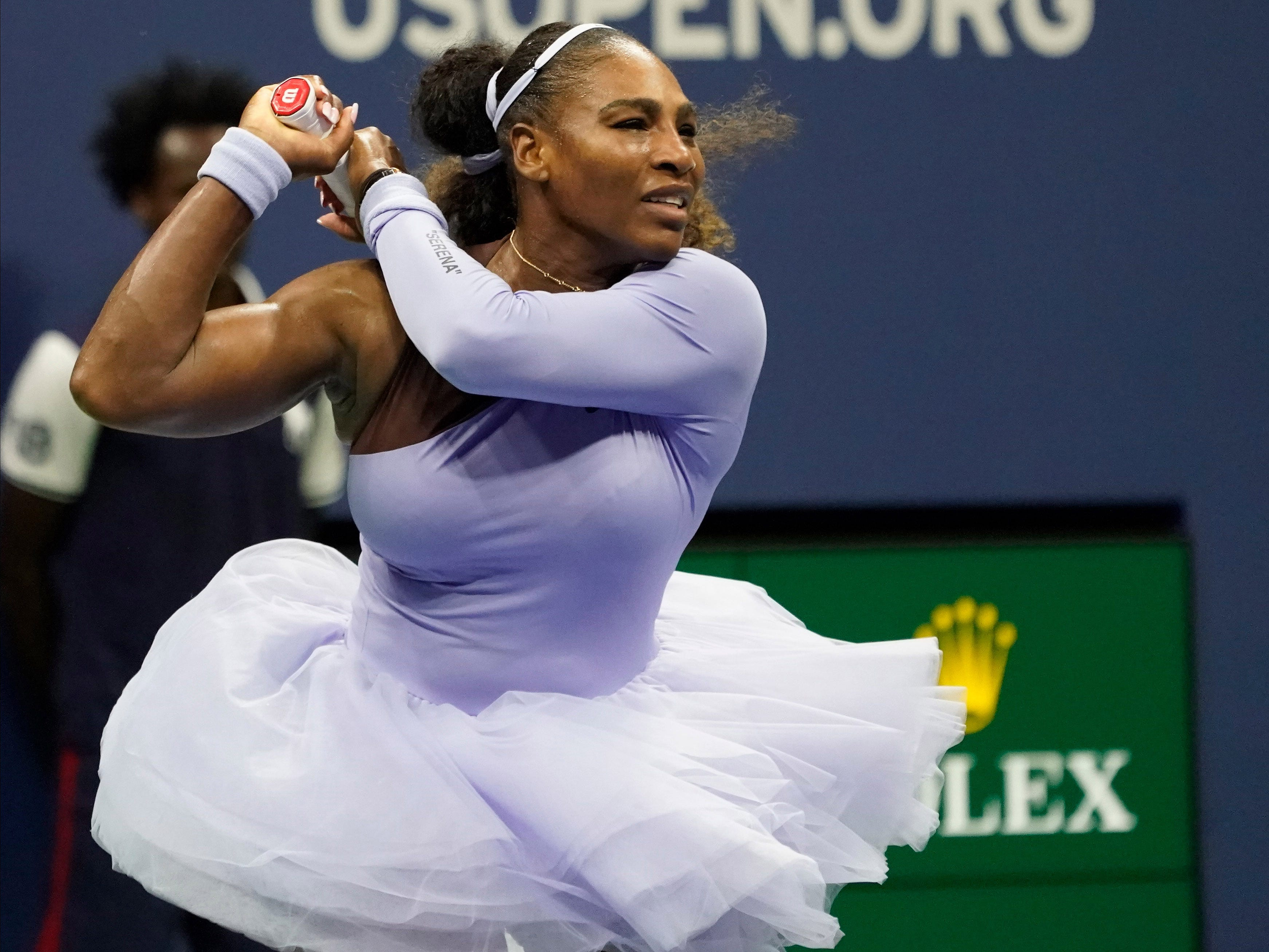 Serena Williams of the USA breezes past Carina Witthoeft of Germany 6-2, 6-2 and into a third-round showdown against sister Venus.