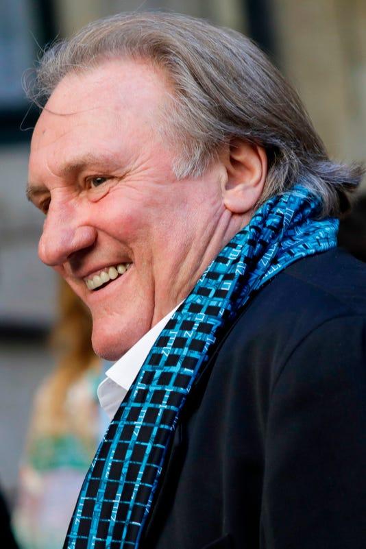Gerard Depardieu accus...
