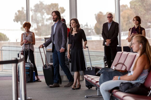 "In ""Destination Wedding,"" Frank (Keanu Reeves) and Lindsay (Winona Ryder) meet as they both go to a destination wedding stag. They do not hit it off at first."