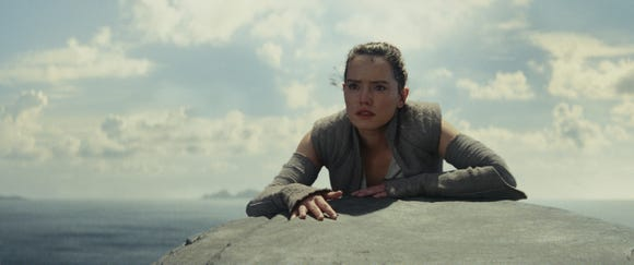 "Daisy Ridley's ""Star Wars"" heroine Rey doesn't have a love interest. Could Matt Smith's ""Episode IX"" appearance be as her potential boyfriend?"