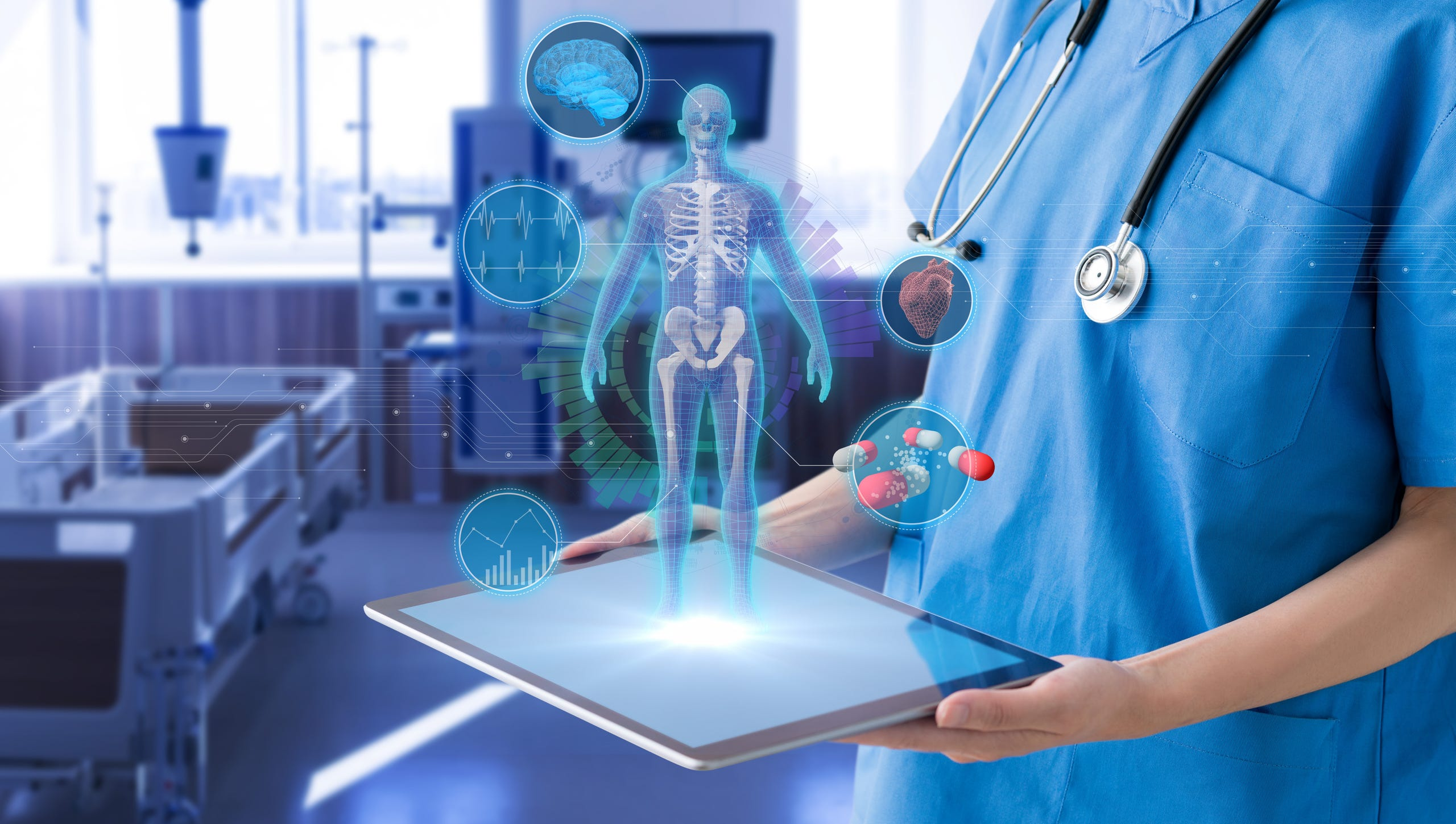 Heath care technology bringing greater benefits to patients.