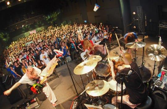 Japanese band Scandal plays Manhattan on Sept. 5.