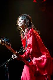 Tomomi, bassist of Japanese rock band Scandal.