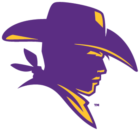 The Hardin-Simmons Cowboy profile logo will feature predominantly on the new Ice Age football helmets and jersey.  A large Cowboy profile is on each side of the helmet, while it also appears on the shoulders of the jerseys.