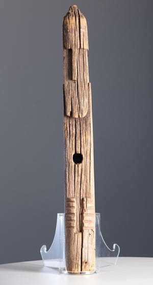 The Ahayuda is a culturally significant artifact to the Zuni tribe in New Mexico.