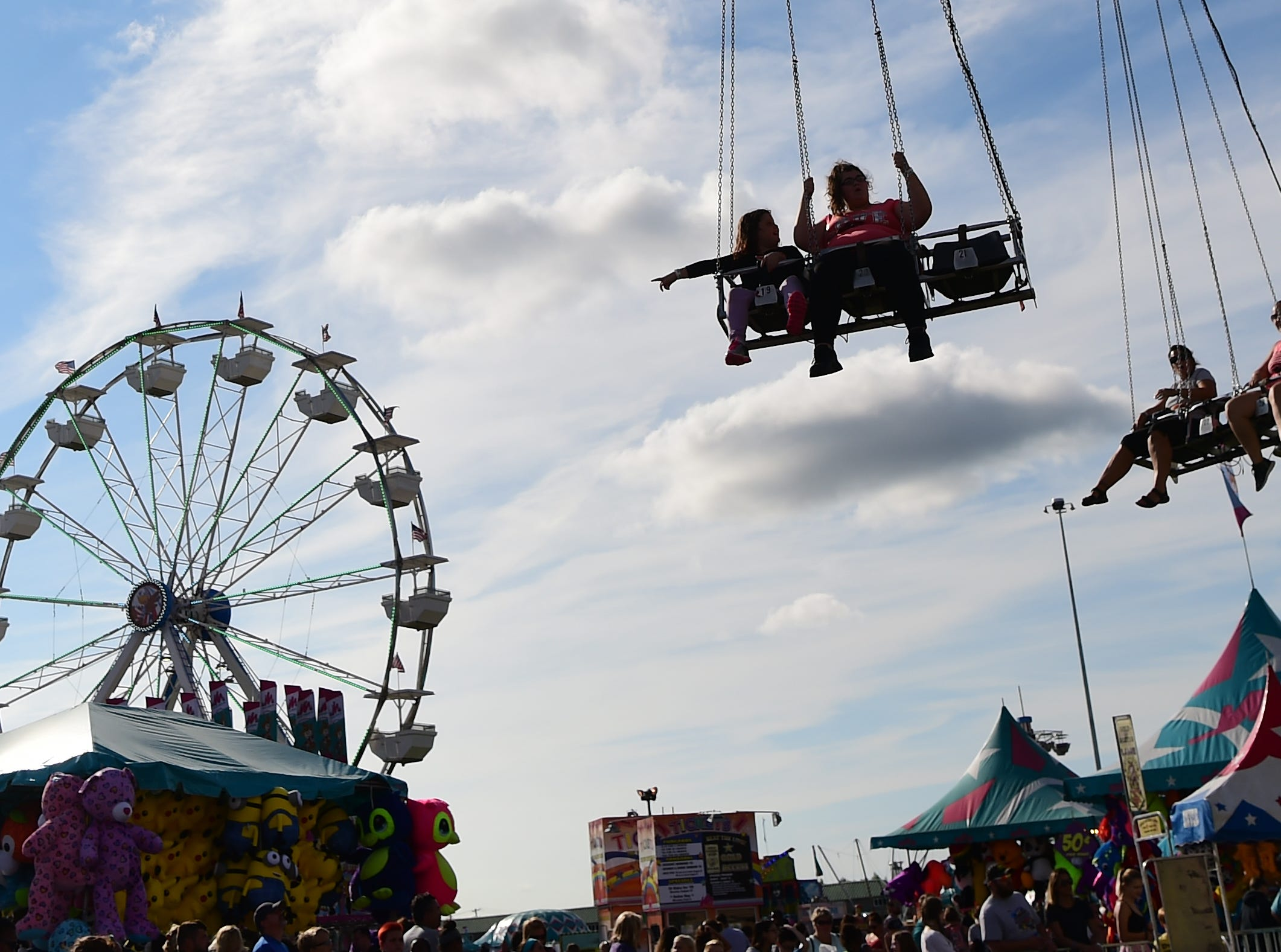 Great New York State Fair is an annual summer tradition that celebrates the agriculture, traditions, foods and people of New York State. The Fair continues through Labor Day at the Fairgrounds near Syracuse, NY. August 30, 2018.