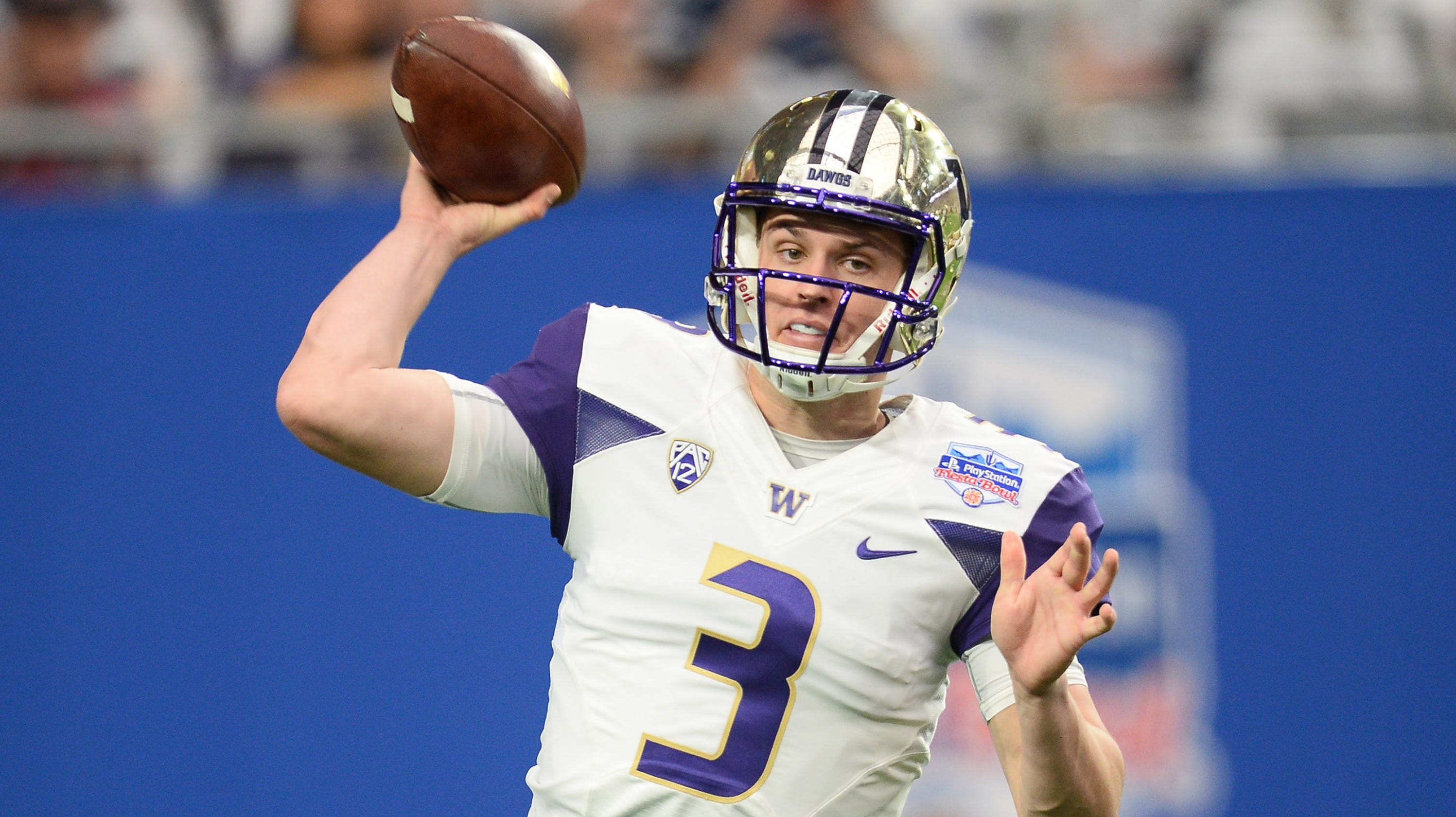 official photos 8e722 9536e Washington quarterback Jake Browning: 'Let's go play already'