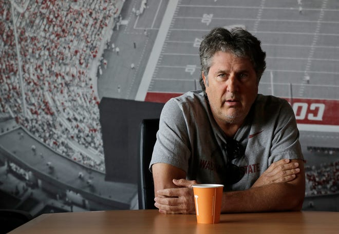 Mike Leach will be back in his home state on Saturday when he leads WSU against Wyoming.