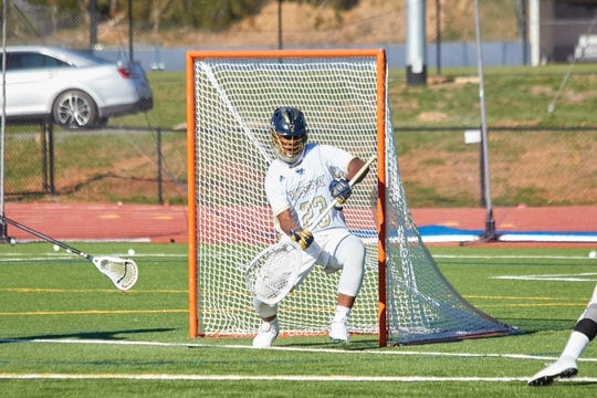 James Verdier III led the NAIA in saves with 201 in the 2017-18 lacrosse season as a freshman.