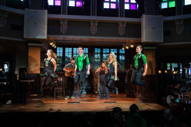 The Raglan Road Irish Dancers will perform throughout the Great Irish Hooley.