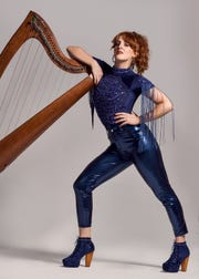 Lisa Canny, seven-time All-Ireland champion on harp and banjo, is an emerging Irish force blending pop and hip-hop with traditional Irish rhythms.