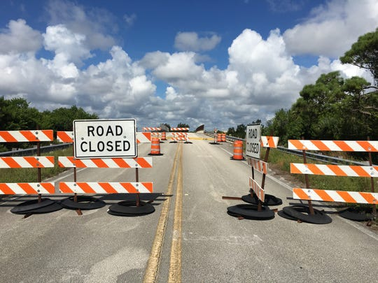 The Sykes Creek Bridge on Merritt Island might not reopen to traffic until mid-2020.