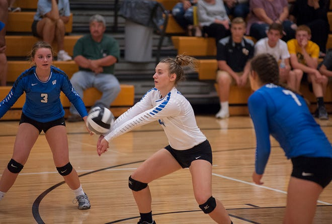 Lyndie Williams is one of three seniors on the roster this season for the Lady Royals.
