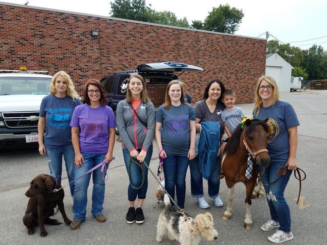From left, areSherry Teynor, Lauren Leonhart, Baylee Wilson, Jenna Morgan, Anny Gebhardt and Erica Schieber.