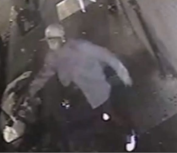 Investigators want the pubic's help in identifying this man for questioning about the murder of Miguel Rodriguez-Zavala, an East Camden restaurateur.
