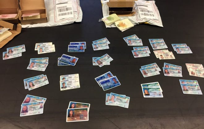 U.S. Customs and Border Protection officers have seized some 500 counterfeit licenses siince May.