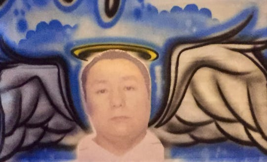 A memorial at El Taco Loco shows Miguel Rodriguez-Zavala, who operated the East Camden restaurant until his Aug. 28 murder.