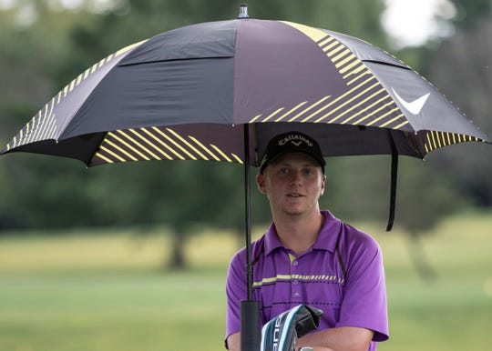 Unioto High School golfer Ty Schobelock won the Scioto Valley Conference's golfer of the year, now he prepares for districts.