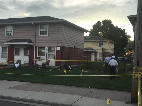 A boy was killed in a double shooting Wednesday in Hamilton.