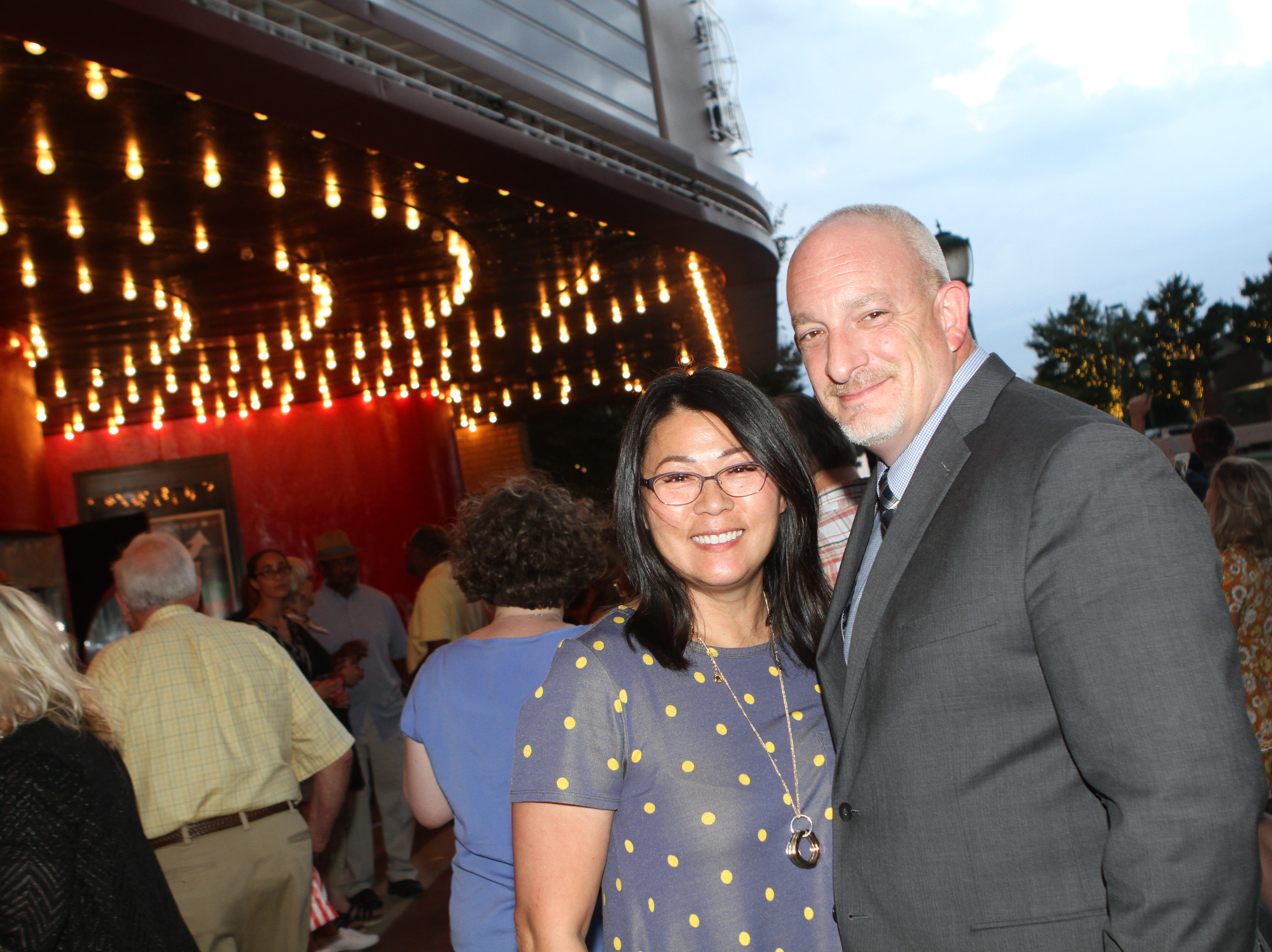 Su and Randy Whetsell at the Roxy Regional Theatre for the United Way 2018 campaign fundraising event Thursday night.