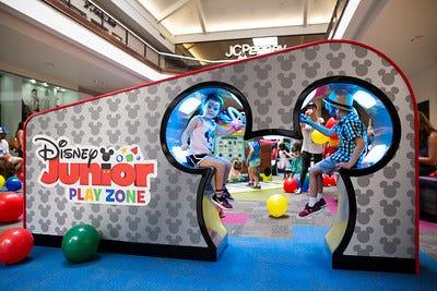 Disney Junior PlayZone will open Sept. 22 at Menlo Park Mall in Edison.