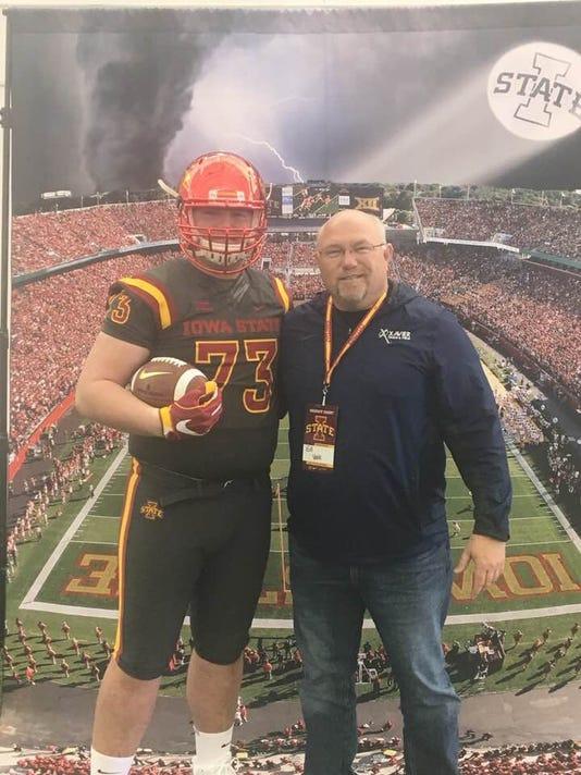 Josh Volk With Dad