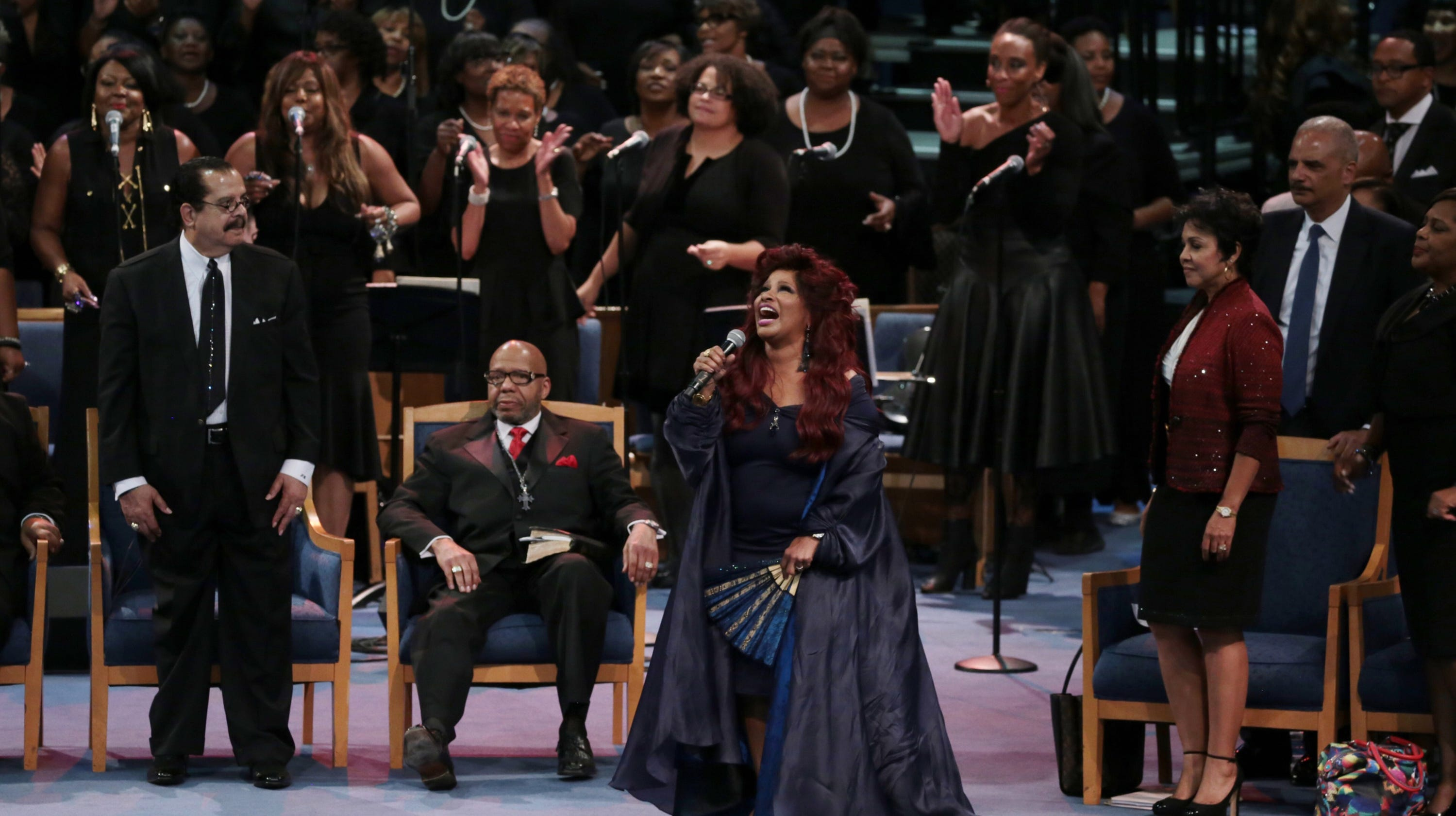 Aretha Franklin funeral: Memorable moments that got people talking thumbnail