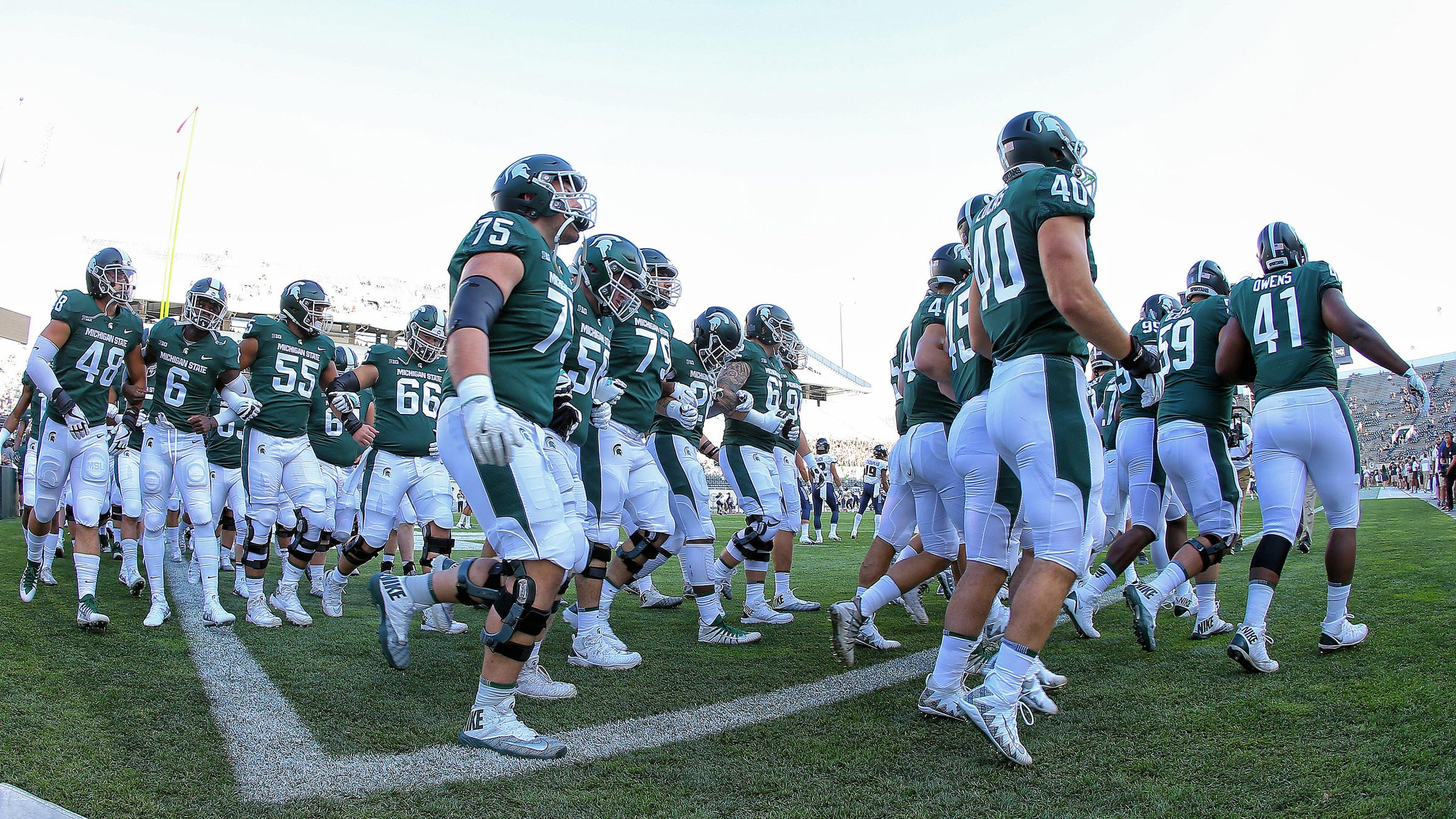 Michigan State Football At Indiana Hoosiers Time Tv Radio