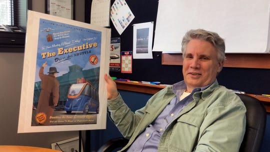 Chris Bidlack, artist and founder of Bidlack Creative Group