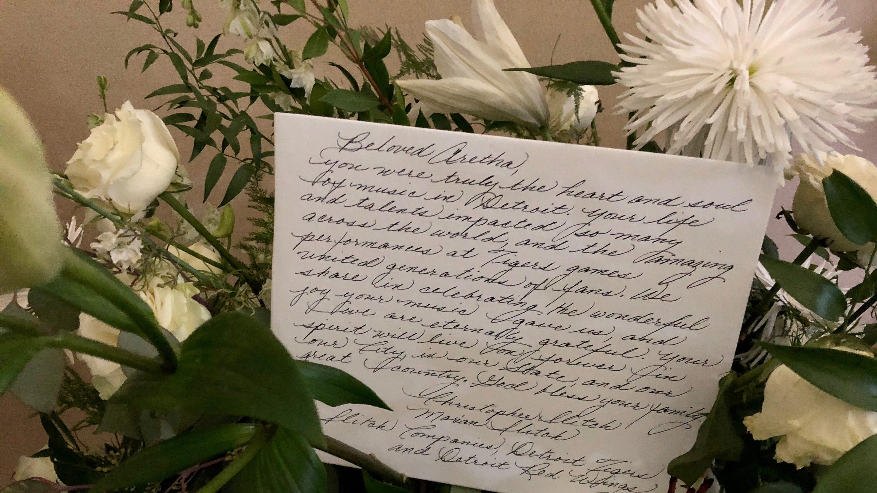 Mariah Carey Diana Ross Send Flowers For Arethas Funeral