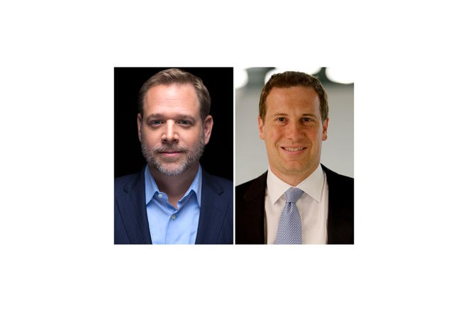 Jay Farner, CEO, Quicken Loans, left, and Mat Ishbia, CEO, United Shore