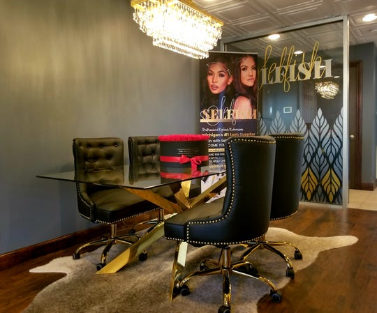 Selfish Lash Studio outgrew its old location in Royal Oak and moved to a larger space on Woodward Avenue.