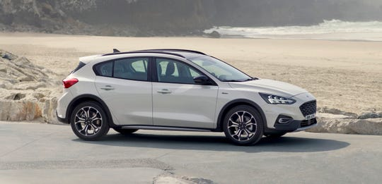 The 2018 Ford Focus Active crossover from China