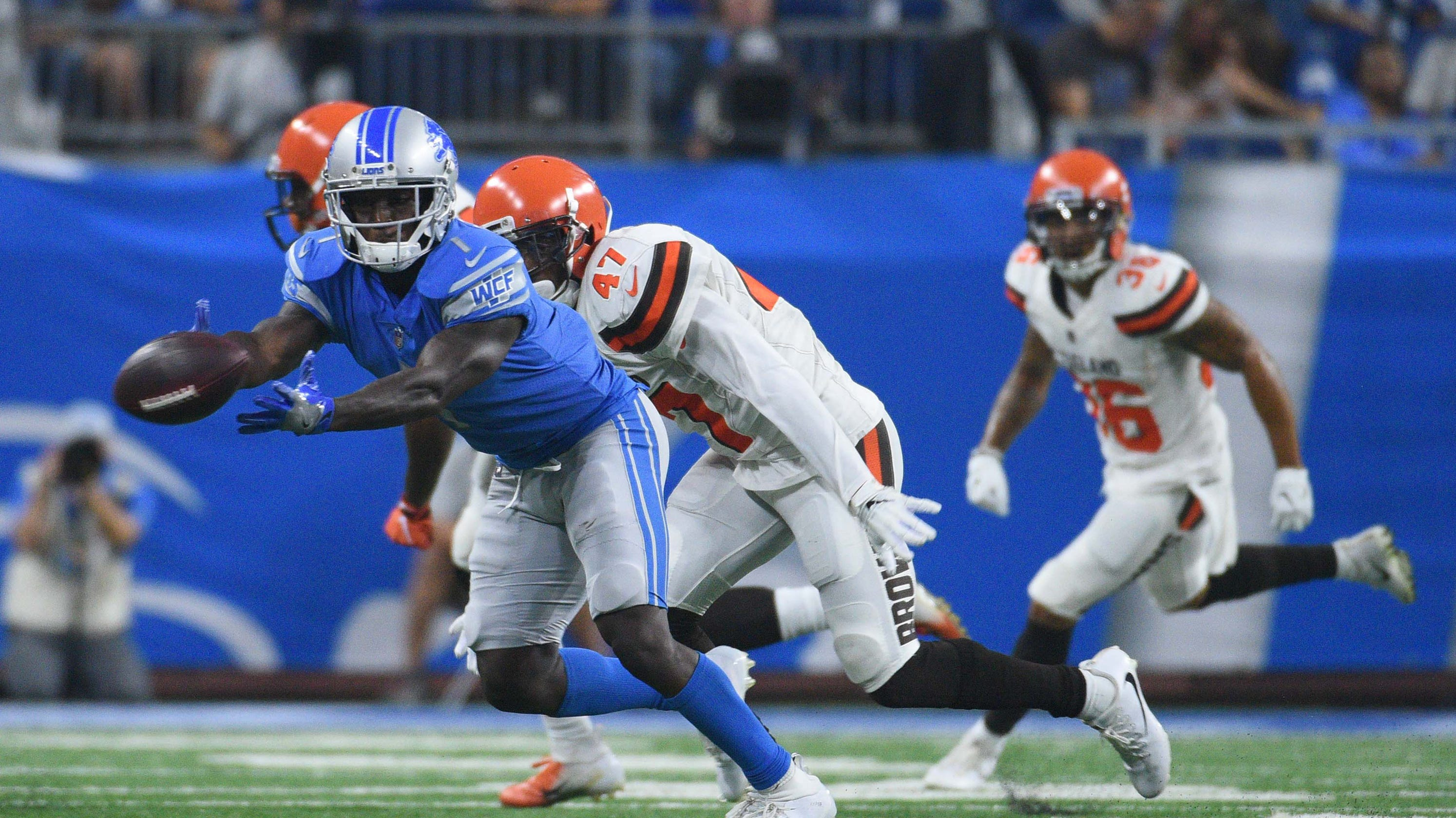 Breaking Down Detroit Lions Depth Chart After Golden Tate Trade
