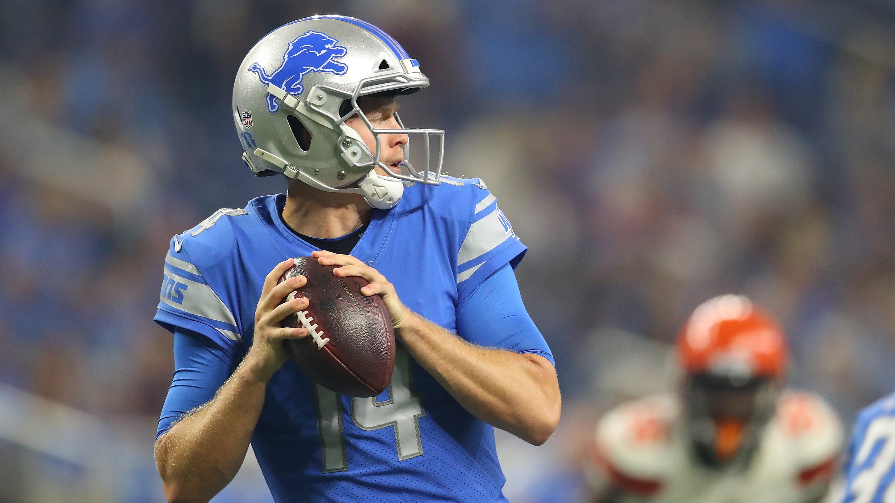 competitive price 4ae5c cbe12 Detroit Lions sign Jake Rudock, 6 others to practice squad