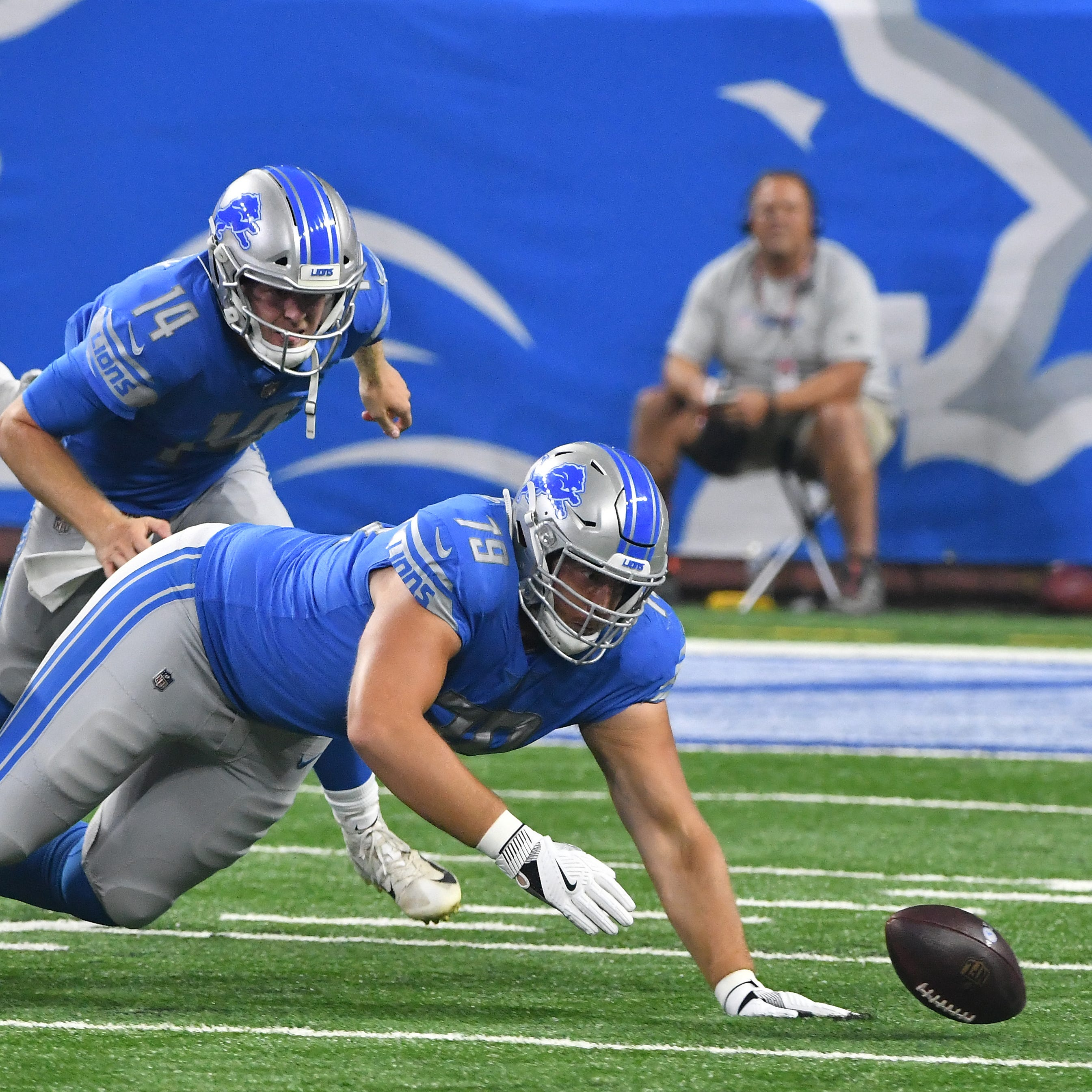 Lions' Kenny Wiggins in uncharted territory heading into camp competition