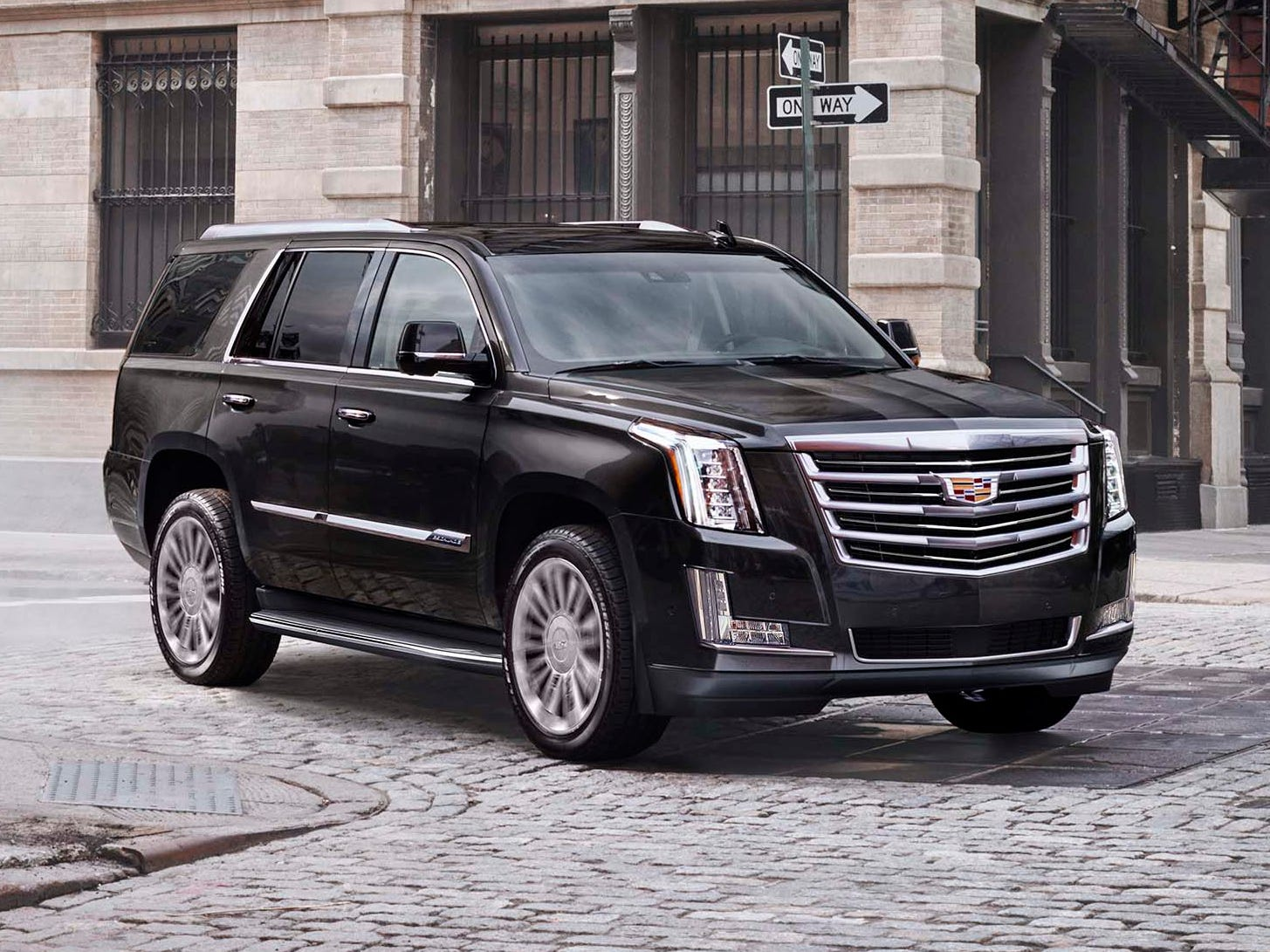 The Cadillac Escalade has grown little in its 20 years - keeping its general 17-foot long by 6-foot-tall dimensions. But its big V-8 is 65 percent more powerful with 52 percent better fuel economy.