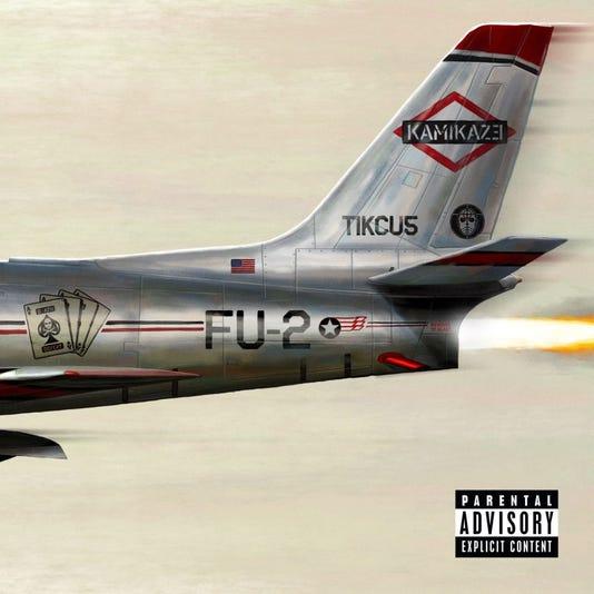 Eminem's Kamikaze (album cover)