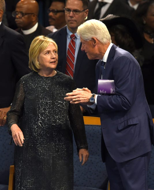 Hillary Clinton Latest News: Bill And Hillary Clinton Book Fox Theatre Engagement