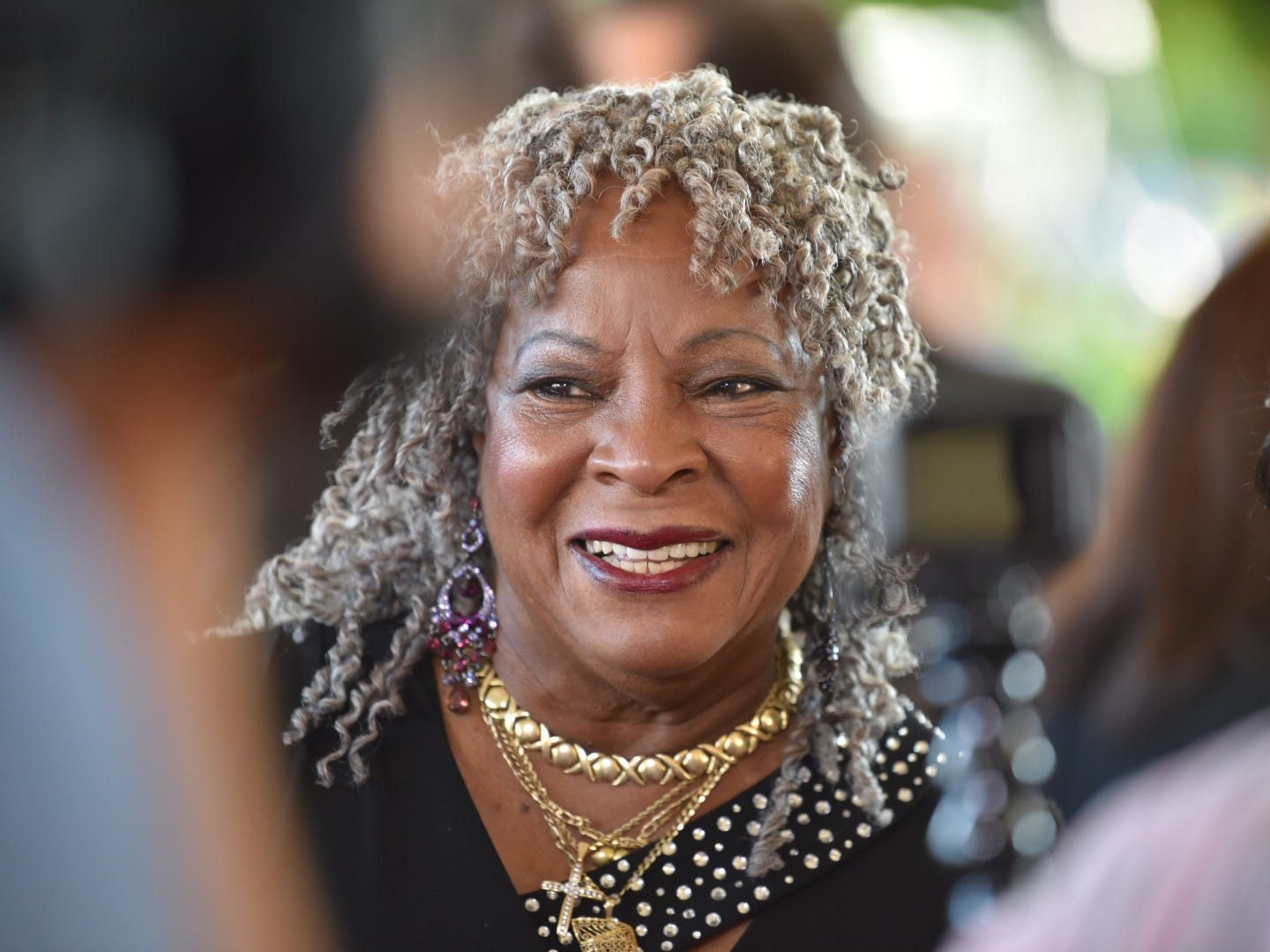 Motown star Martha Reeves is among the luminaries attending the memorial service.