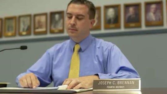Chemung County Legislator for District 4, Joe Brennan