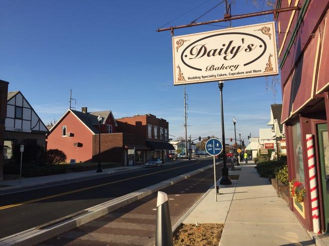 North Main Street, in Evansville's Jacobsville neighborhood.