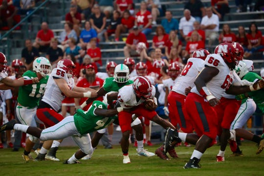 North Fort Myers visited Fort Myers for their annual rivalry game on Friday, Aug. 31, 2018