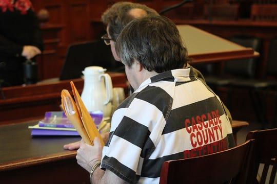 Brett McDermott waits for sentencing for the 2016 beating death of Bradley Boland