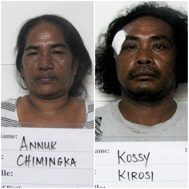 Chimingka Annuk and Kirosi Kossy are shown in this combined photo.