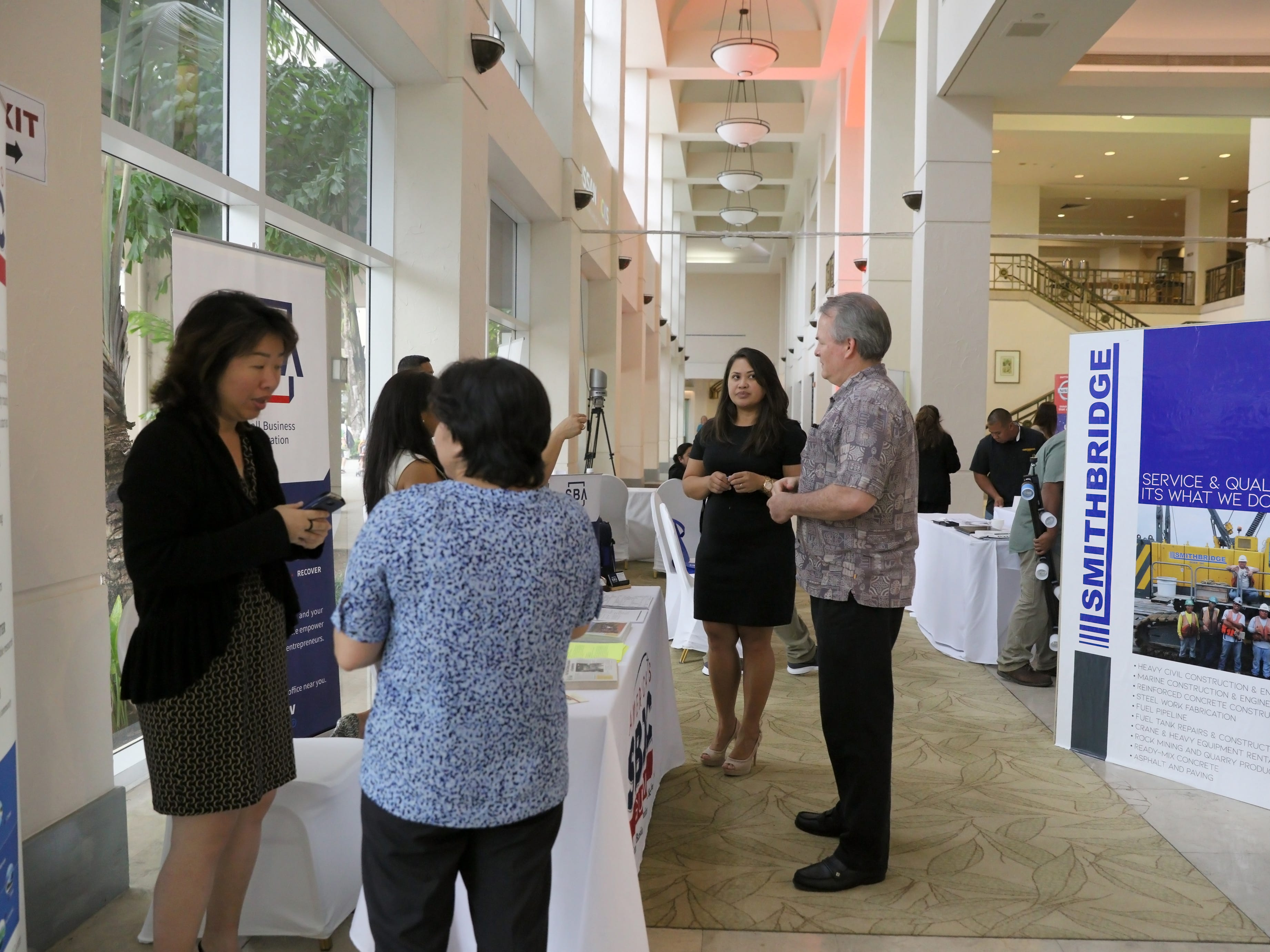 The Guam Chamber of Commerce held the Small Business Expo and Outreach at the Hyatt Regency Guam Grand Ballroom.