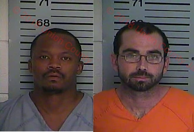 Inmates Kenneth Manuel (left) and Jay Howard (right)
