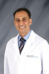 Dr. Abdelkader Almanfi, an interventional cardiologist with Franciscan Physician Network Indiana Heart Physicians.