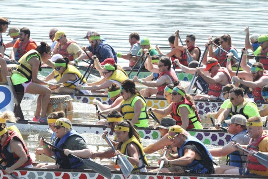 The inaugural White River Dragon Boat Race roars into White River State Park Sept. 29.