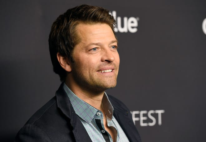 """Misha Collins arrives at a screening of """"Supernatural"""" during the 35th annual PaleyFest at the Dolby Theatre on Tuesday, March 20, 2018, in Los Angeles. (Photo by Chris Pizzello/Invision/AP)"""